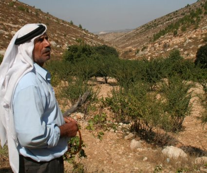 Abu Jabr is attacked by Israeli settlers